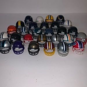 Tiny football helmets
